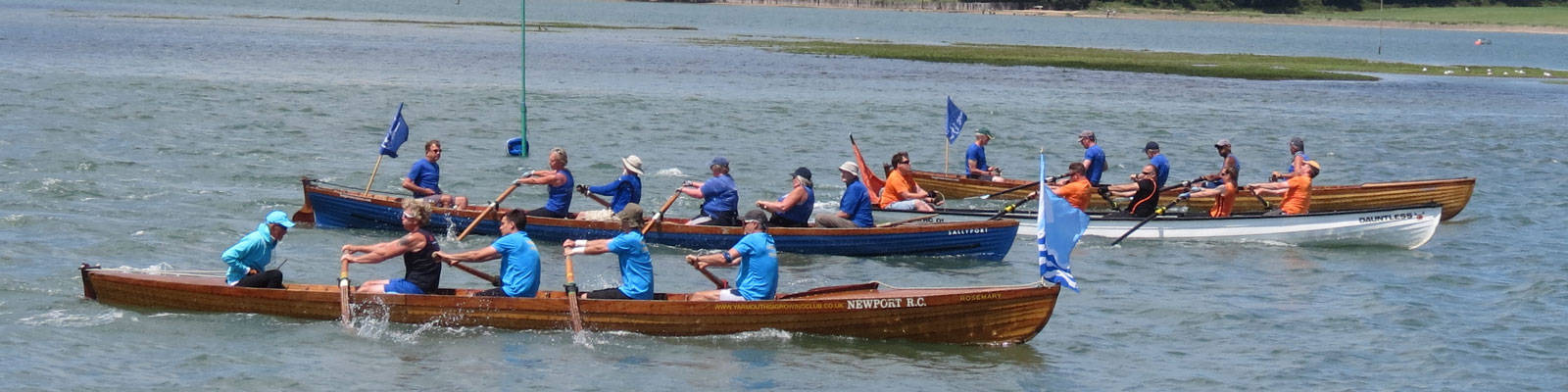 round hayling rowing race